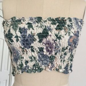 Furst of a Kind Floral Tube Top